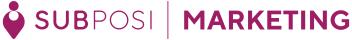 SUBPOSI(サブポジ)MARKETING ロゴ